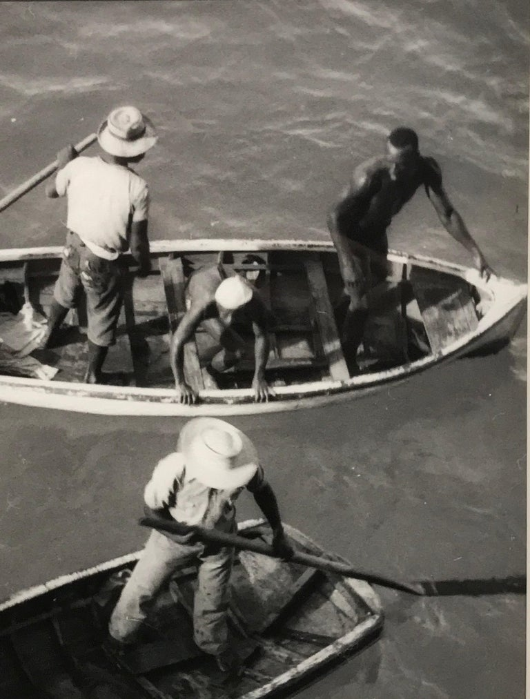 Diving Boats - Realist Photograph by Eleanor Parke Custis