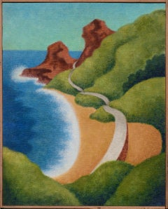 Big Sur Coast - Art Deco Landscape
