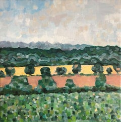Eleanor Woolley, View from the Whispering Knights Rollright, Original Landscape