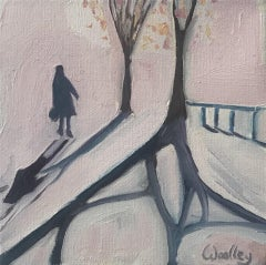 Eleanor Woolley, Winter Shadows 16, Affordable Art, Contemporary Art