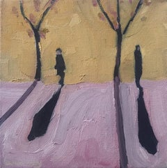Eleanor Woolley, Winter Shadows 20, Contemporary Art, Affordable Art