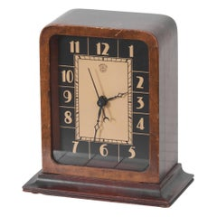Electric Art Deco Table Clock by Gilbert Rohde for Herman Miller, US, 1930s