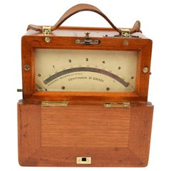 Electric Pyrometer Made by Allocchio Bacchini Milan in the 1930s