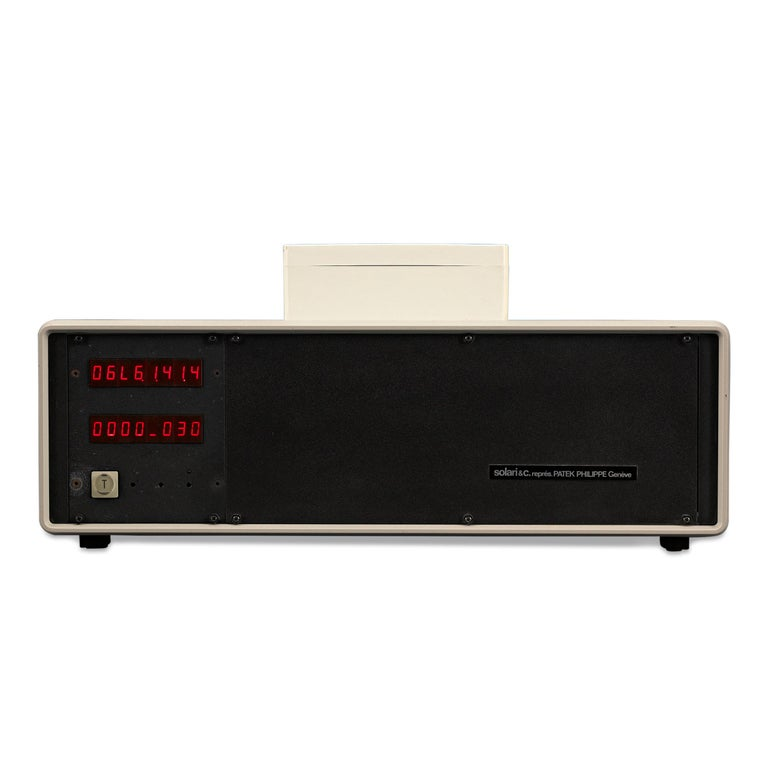 Industrial Electronic Clock with Aerial by Patek Philippe For Sale