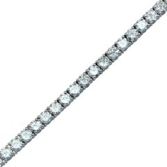 6.44 Carat Diamond Tennis Bracelet