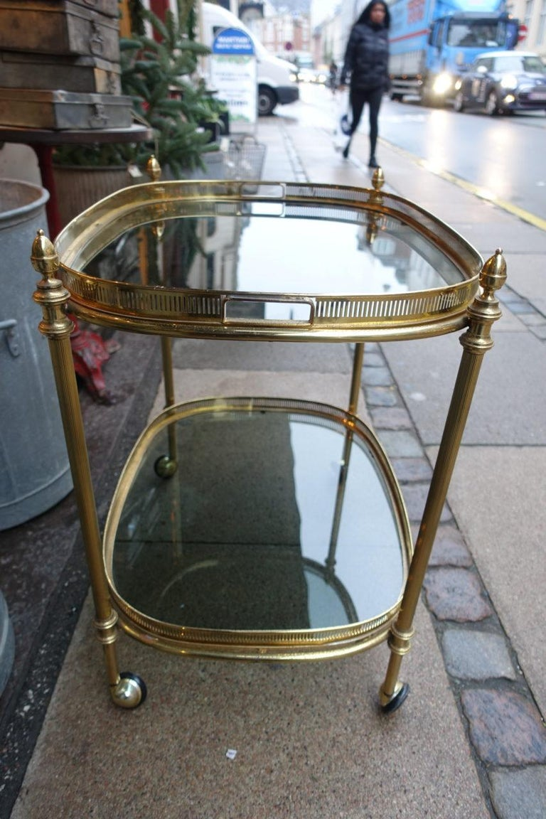 Mid-20th Century Elegant 1960s French Drinks Trolley For Sale