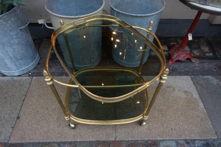 Elegant 1960s French Drinks Trolley For Sale 1