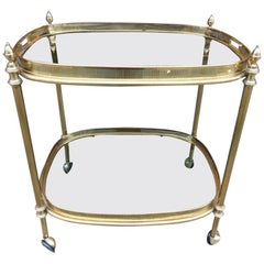 Elegant 1960s French Drinks Trolley