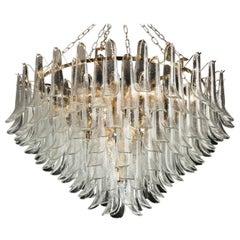 Elegant 197 Petals Chandelier Italian Murano Glass
