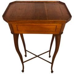 Elegant 19th Century Biedermeier Side Table or Stand