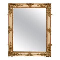 Elegant 19th Century Gilt Mirror
