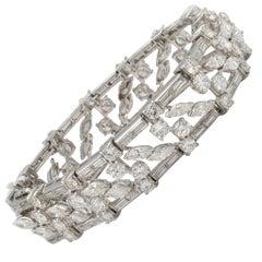 White Diamond Modern Bracelets