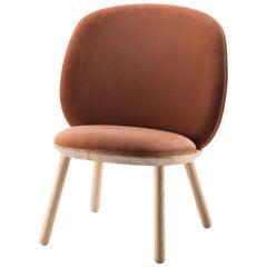 Elegant and Modern Naïve Low Chair