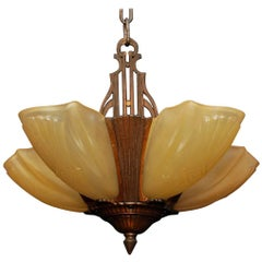 Elegant Art Deco Light