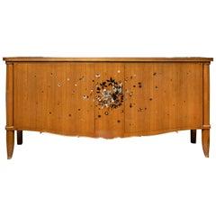 Elegant Art Deco Period Walnut  Buffet by Jules Leleu