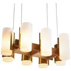 Elegant Chandelier by Sten Carlquist for Hans-Agne Jakobsson