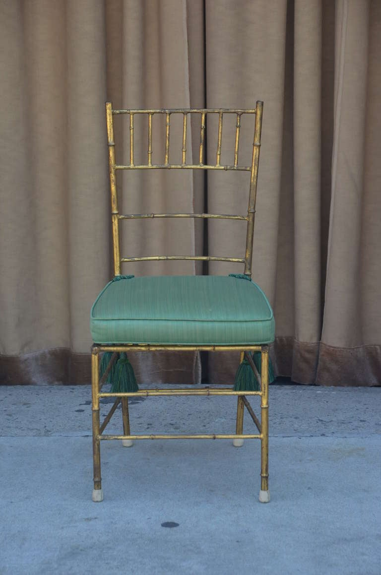 Elegant Chiavari side chair.
