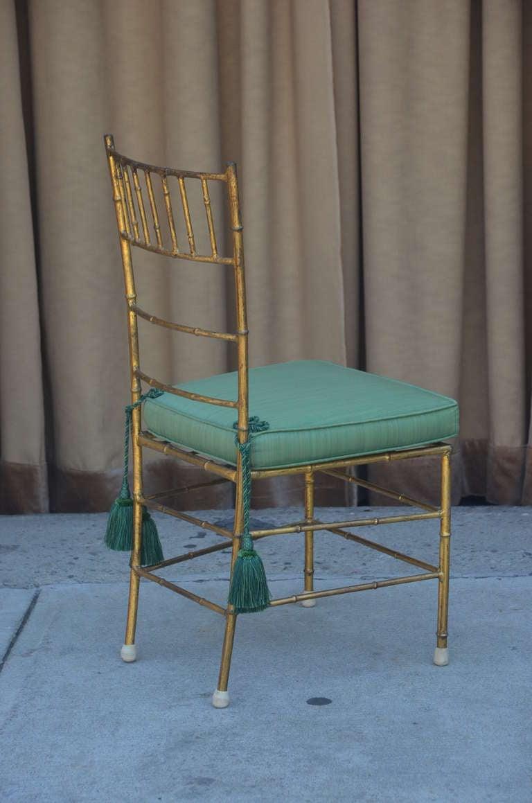20th Century Elegant Chiavari Side Chair For Sale