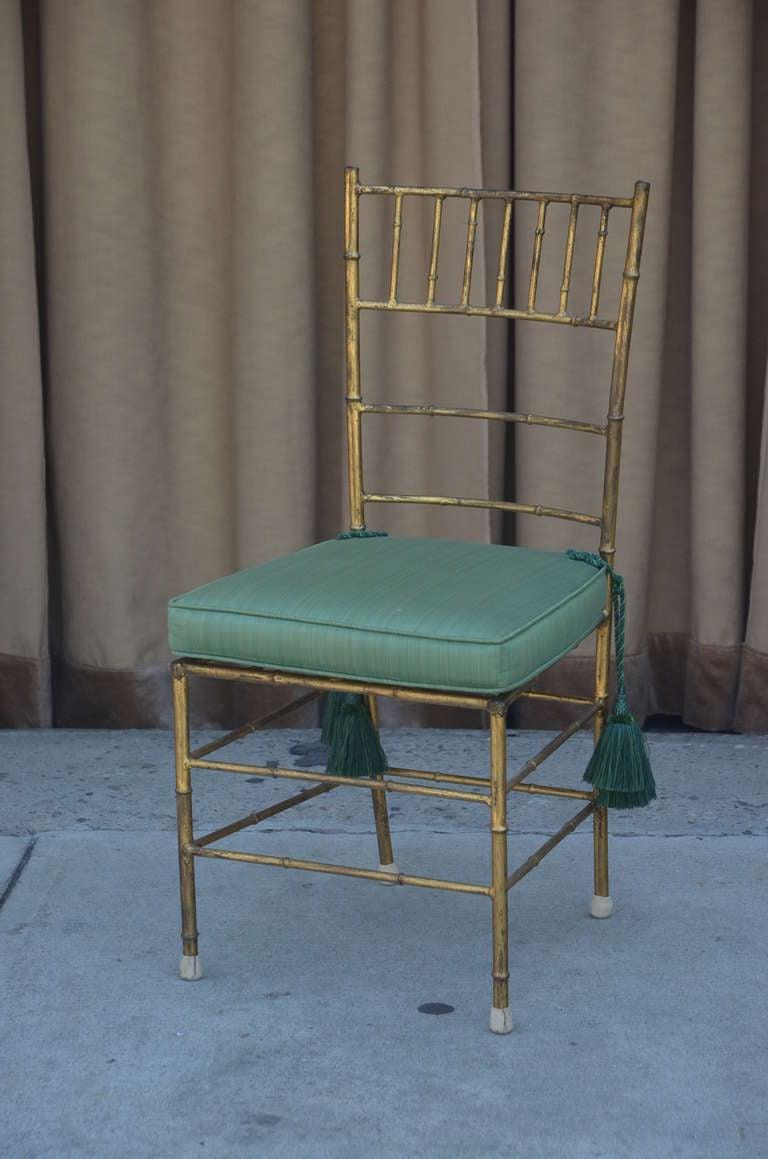 Wood Elegant Chiavari Side Chair For Sale
