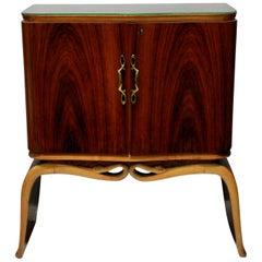 Elegant Cocktail Cabinet by Borsani