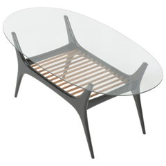 Elegant Coffee Table by Alfred Hendrickx for Belform