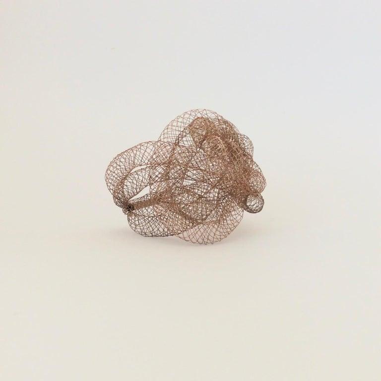 Late 20th Century Elegant Copper Wire Bracelet, circa 1990, U.S.A For Sale