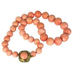 Elegant Coral Beads