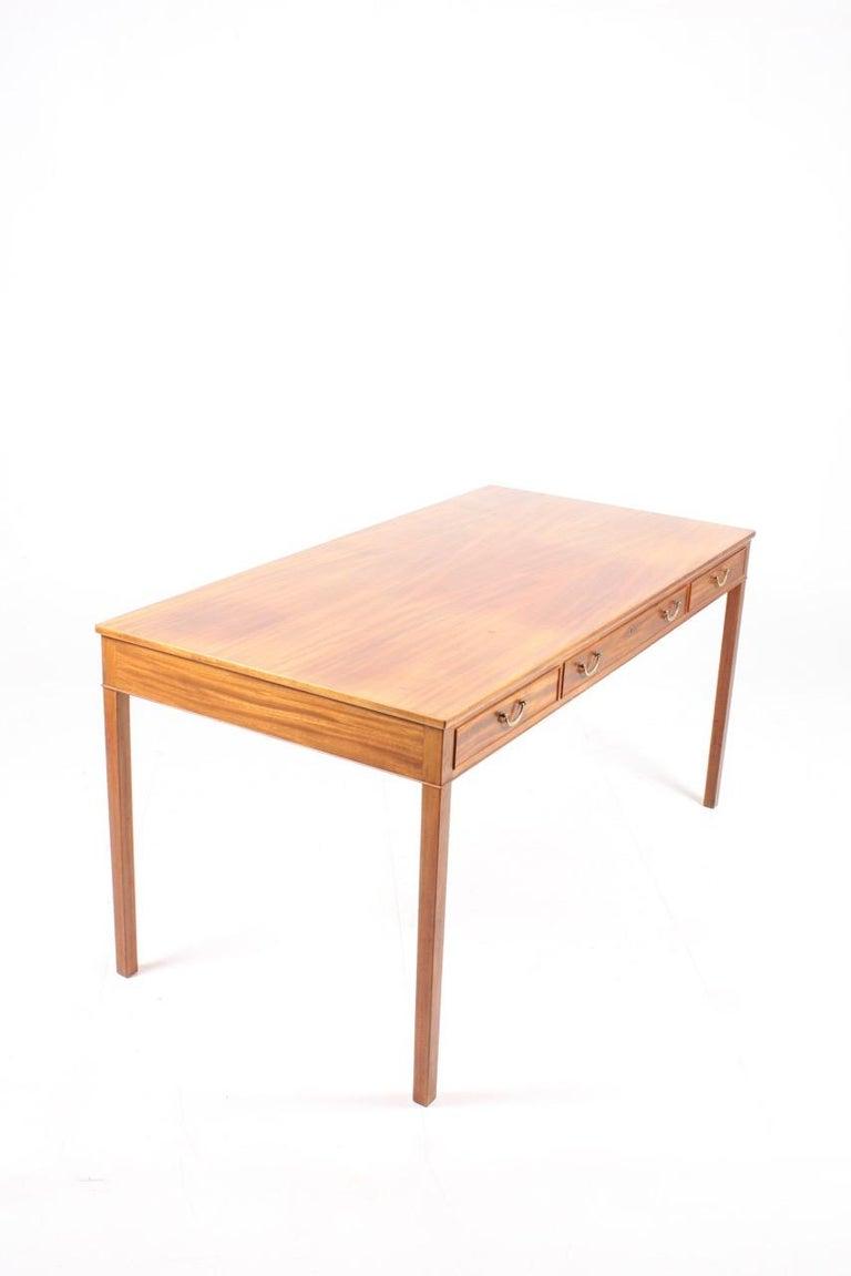 Mid-20th Century Elegant Desk Designed by Ole Wanscher For Sale