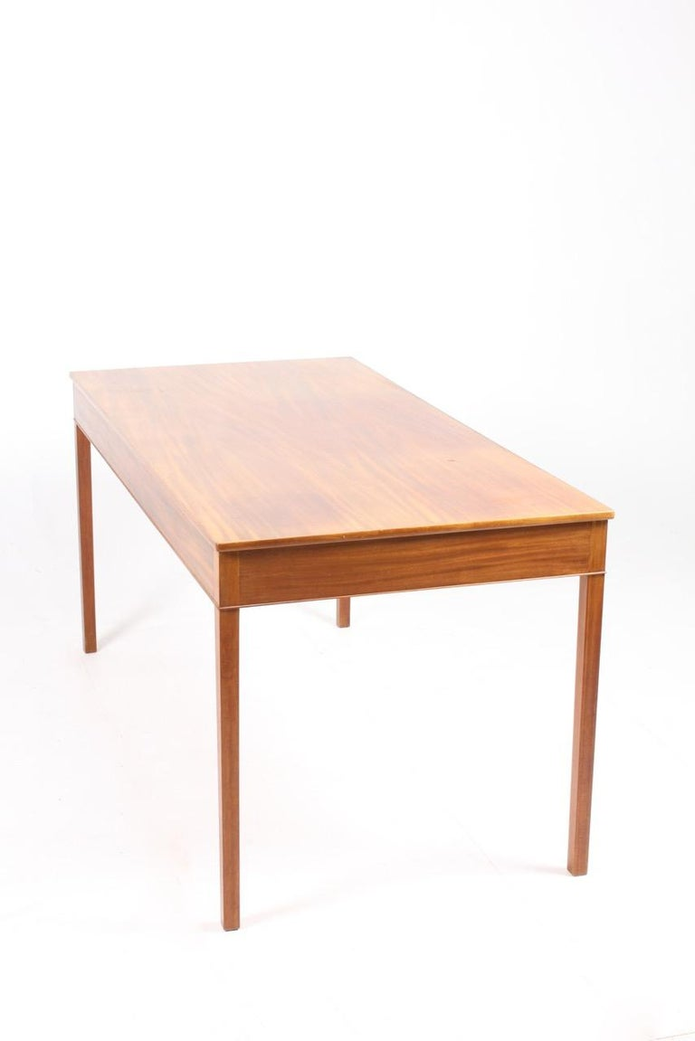 Mahogany Elegant Desk Designed by Ole Wanscher For Sale