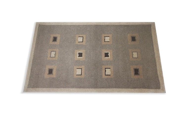 Art Deco Elegant Door Mat Small Rug Handmade Door Mats, Modern Farmhouse Rugs and Carpets For Sale