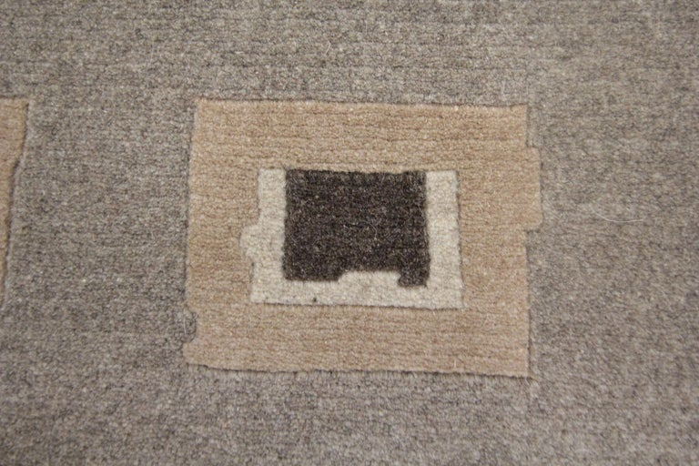 Vegetable Dyed Elegant Door Mat Small Rug Handmade Door Mats, Modern Farmhouse Rugs and Carpets For Sale