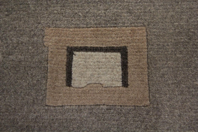 Elegant Door Mat Small Rug Handmade Door Mats, Modern Farmhouse Rugs and Carpets In New Condition For Sale In Hampshire, SO51 8BY
