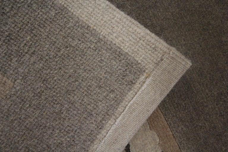 Wool Elegant Door Mat Small Rug Handmade Door Mats, Modern Farmhouse Rugs and Carpets For Sale
