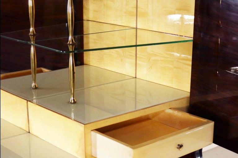 Mid-20th Century Elegant Dry Bar by Osvaldo Borsani for Atelier Borsani Varedo, 1950s For Sale