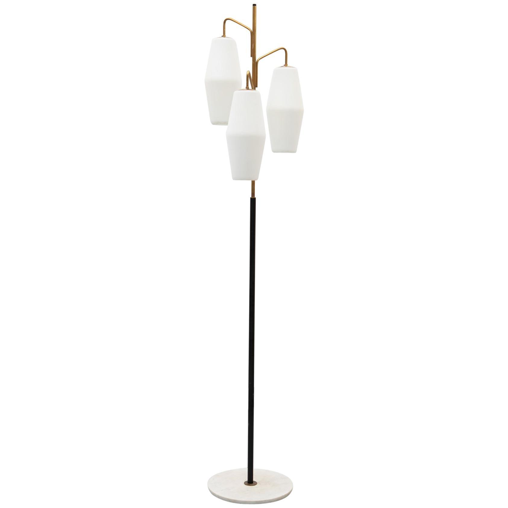 Elegant Floor Lamp Model 4052 by Stilnovo, Italy, 1960s
