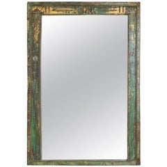 Elegant Frame for This Mirror Comes from a Mid-19th Century Mansion in Deccan