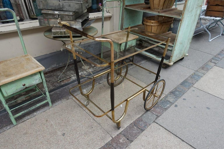 Elegant French 1930s Bar Cart In Good Condition For Sale In Copenhagen K, DK