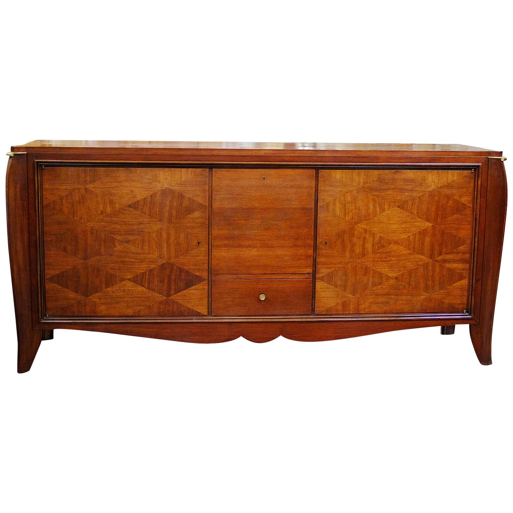Elegant French Art Deco Sideboard