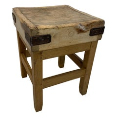 Elegant French Butchers Block