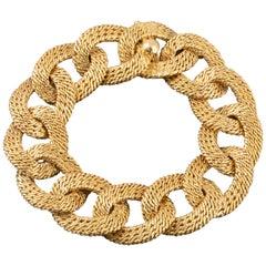 Elegant French Gold Bracelet