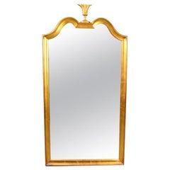 Elegant Gold Leaf Mirror