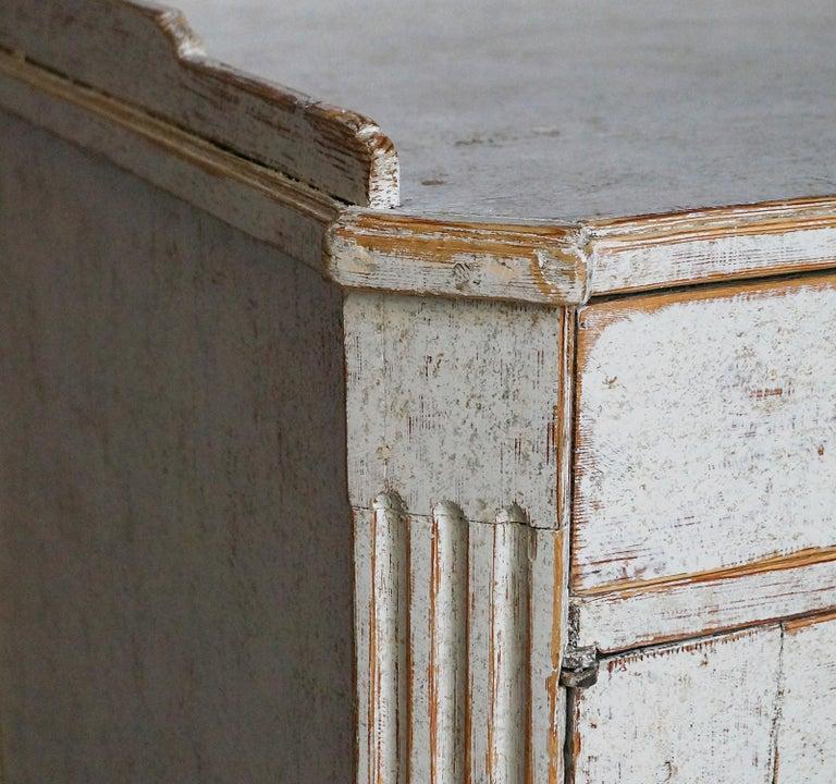 Wood Elegant Gustavian Sideboard