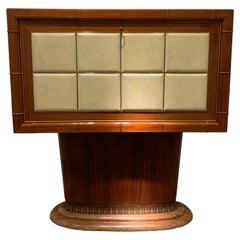 Elegant Italian Bar Cabinet by Vittorio Dassi, 1940s