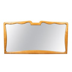 Elegant Italian Carved Frame Mirror