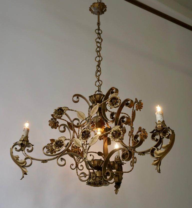 Elegant Italian Chandelier For Sale 6