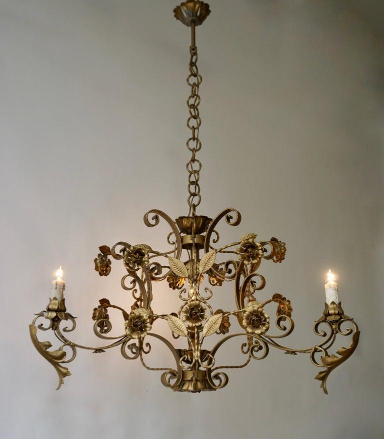 Elegant Italian Chandelier For Sale 7