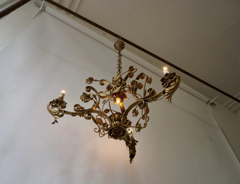 Elegant Italian Chandelier For Sale 8