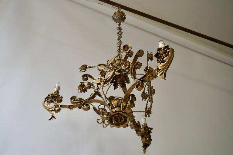 Elegant Italian Chandelier In Good Condition For Sale In Antwerp, BE