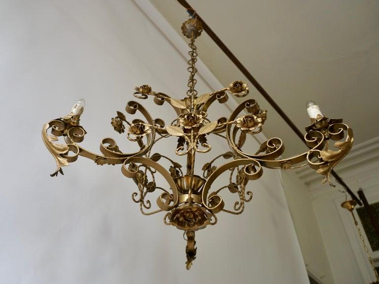 Elegant Italian Chandelier For Sale 3