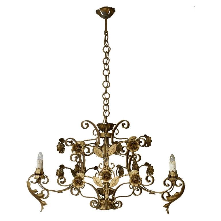 Elegant Italian Chandelier For Sale